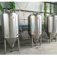 China 1000L Red Copper Shell Inner Stainless Steel Three Vessels Brewhouse with PU Instualtion wholesale