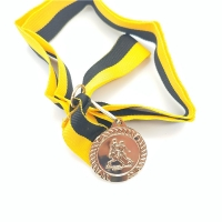 Buy cheap Sport 1.5mm 3d Marathon Custom Metal Medals from wholesalers