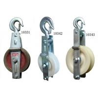 China SHT Grounding Wire Stringing Block / 20KN Cast Steel Sheave Stringing Block wholesale