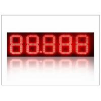 China Outdoor / Indoor 12 inch led lights for gas stations , led price signs energy saving wholesale