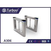 China Optical Swing Pedestrian Access Gate , 304 316 Stainless Steel Turnstiles wholesale