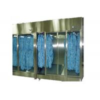 China Stainless Steel 304 Sterile Garment Storage Cabinet For Hospital Clean Room wholesale
