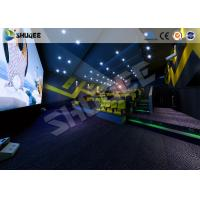 China Digital Movie Technology 4D Movie Theater 4D Cinema With Amazing Effect wholesale