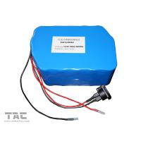 China 12V LiFePO4 Battery Pack  f'or Street Lamp  IFR 26650 50ah With Connector wholesale