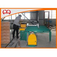 China Circle Plate Metal Pipe Flame Cutting Machine With CNC System Programmable wholesale