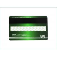 Quality High Frequency Membership PVC Card , Custom Mag Stripe Cards Matte Finished for sale