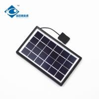 China 9V 3W solar panel photovoltaic for solar power system ZW-3W-9V-1 portable solar charger wholesale