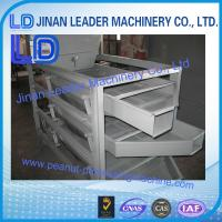 China automatic high capacity 500-600kg/h almond classifier for size of almond with slow price wholesale