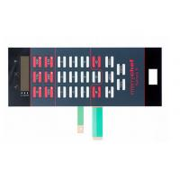 Buy cheap Good Tactility Performance LED Membrane Switch Assembly With 3M467 / 3M468 Adhesive from wholesalers