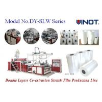 China Vinot Brand Cast Stretch Film Machine suitable for LDPE or LLDPE stretch film making Model No. SLW-600 wholesale