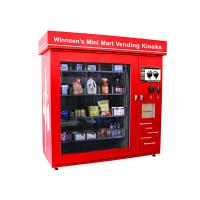 China Commercial Parks Vending Kiosk , Automatic Prepaid Cards Food Vending Station on sale