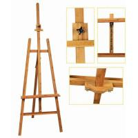 China Bamboo Adjustable Artist Painting Easel Tripod Stand For Painting OEM Avaliable wholesale