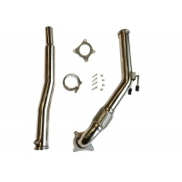China 1.5mm 3.0 Inch VW Golf Downpipes wholesale