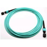 Industrial Fiber Optic Patch Cord Optical Fiber Network Cable With OFNP / OFNR Jacket