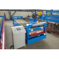 China 1.25M Width Metal Profiling Wall Panel Roll Forming Machine With Hydraulic Precut wholesale