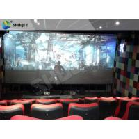 China 4D Ride Simulator Electronic System 4D Movie Theater With All Special Effects wholesale