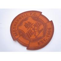 China Custom Embroidered Name Patches wholesale
