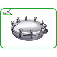 Metal Stainless Steel Manhole Cover / Tank Manhole Cover For Pressure Vessel