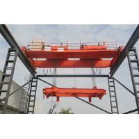 China Double Beam Travelling Overhead Crane With Double Trolleys For Mining Industries wholesale
