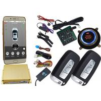 China Gps Auto Tracking Vehicle Security Alarm System 12V / 24V Mobile App Central Lock Or Unlock wholesale