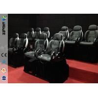 China Mini 7D Movie Theater, 6 / 9 / 12 / 18 / 24 Persons XD Motion Cinema With Flat Screen wholesale