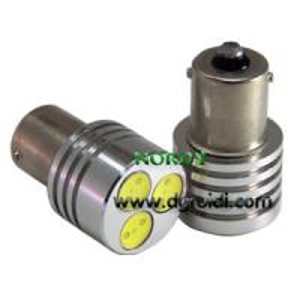 China Led Turn Lamp 3pcs 1W high power LED DC12V/DC24V brake and turn led light for Auto red color wholesale