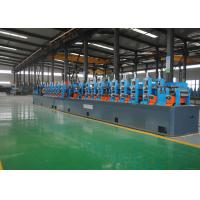 China High Frequency ERW Tube Mill , Welded Pipe Mill 0.8-3.0mm Max Thickness wholesale