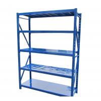 China Long Span Steel Light Duty Shelving For Leather Industry 300kg Loading wholesale