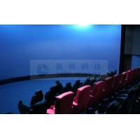 China Immersive Digital 3D 4D theatre system , outdoor theme park simulators 3D movies with 5.1 audio system wholesale