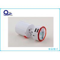 China Detachable Universal Power Converter Adapter With Led Logo Safety Fuse Protection wholesale