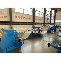 China 380V 50Hz Metal Plate Cutting Machine Uncoiling Slitting Cutting Production Line wholesale