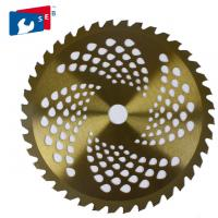 China 255mm TCT Circular Grass Cutting Saw Blade for Bush Bamboo Fence wholesale