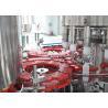 China Monoblock Bottled Hot Filling Machine Heat-resistant For Fruit Juice Making wholesale