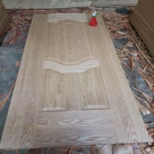 China China 4mm thickness Oak veneer HDF Door Skin for door decoration on sale