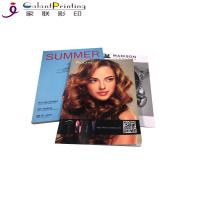 China Magazine Book Catalog Printing Services Embossing Or Debossing wholesale
