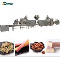 China Good Pet Treats Dog Chews Bone food Extruder Machine  ISO9001 2008 Certification wholesale