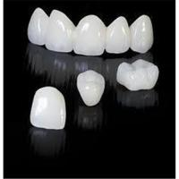 China Natural Zirconia Crowns And Bridges of Dental Lab For Teeth Cosmetic With High Strength wholesale