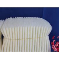 Quality Subway Synthetic Fiber Flame Retardant Filter Media / Flame Retardant Cotton 3600m3/h Rated Air Flow for sale