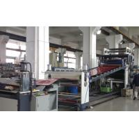 China ABS Sheet / Plastic Roof Sheet Making Machine High Efficiency 3000mm width on sale