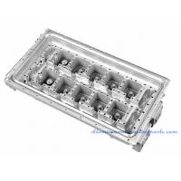 Sand Blasting Aluminium Die Castings Copper Pipe Heat Sink For Electrical Cabinet