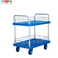 China Cheap Hand Trolley Prices Sale,TJG-PLA300-T1 Hand Truck Trolley With 4 Wheels wholesale