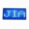 China Promotional Blue LED message cap wholesale
