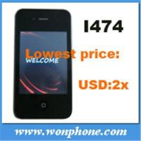China Dual Sim Card Mobile Phone I474 4G on sale