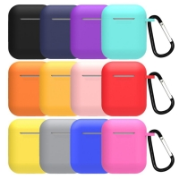 China Soft  Shockproof Earphone Airpods Silicone Case For Apple wholesale