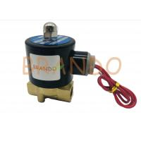 """China Threaded Ports 2 Way 2 Position Solenoid Valve 2W-040-10 3/8"""" Inch Direct Acting wholesale"""