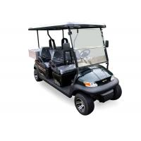 Buy cheap Dark Blue Electric Utility Golf Cart 4 Passenger With Aluminum Box For Luggage from wholesalers