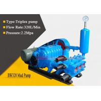 China Single Acting Triplex Mud Pump for Geological Survey / Agricultural Irrigation wholesale
