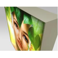 China Retail Display LED Frameless Fabric Light Box , Rectangle Backlit LED Lightbox wholesale