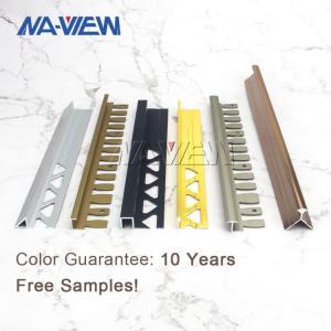 China 9mm Height Metal Tile Edging Carpet Tack Strips Edge Trim wholesale