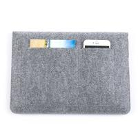 Quality Factory price mac book pro felt laptop briefcase bag. size is a4. 3mm microfiber for sale